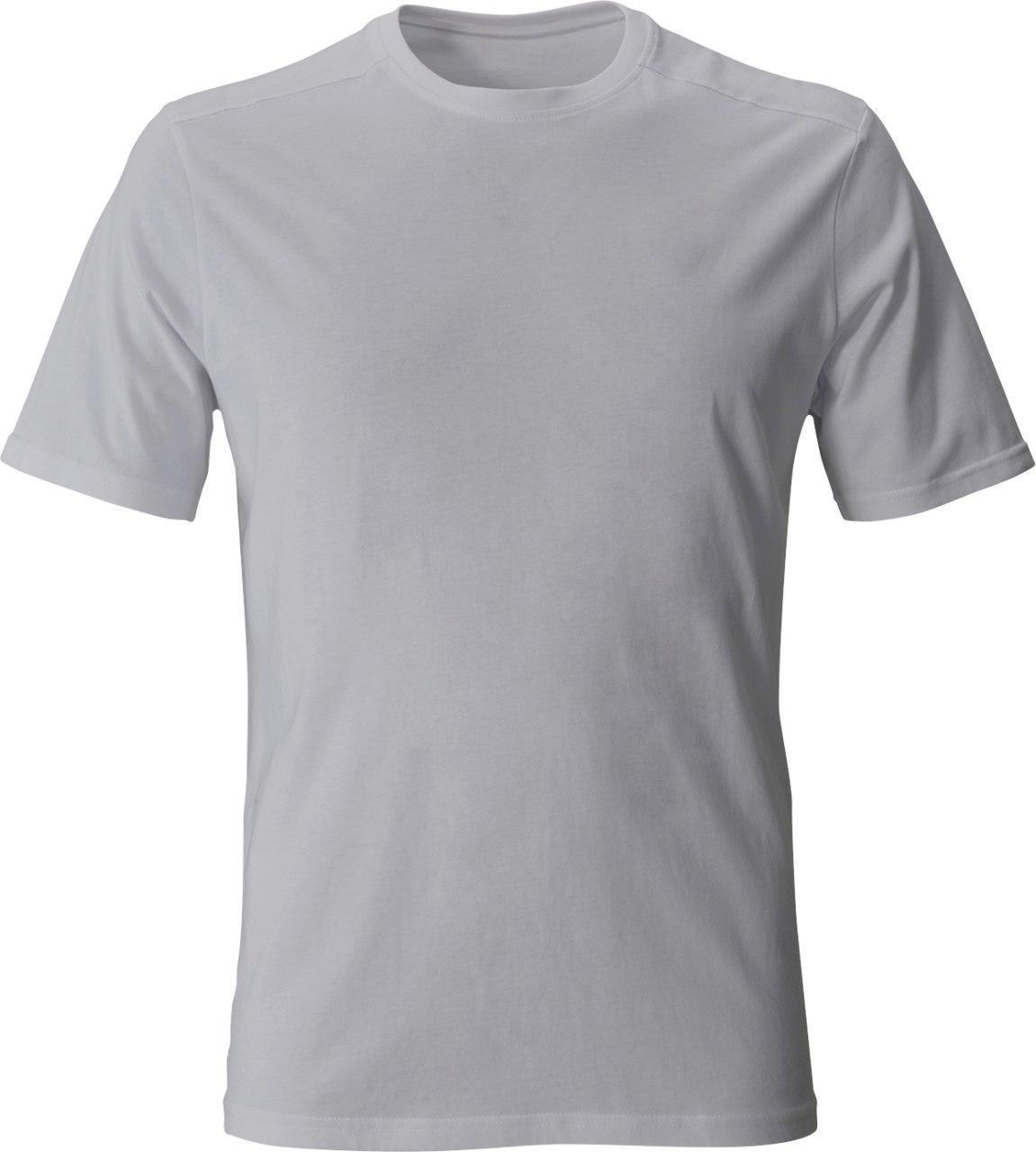 Чоловіча футболка для сублімації S колір світло-сірий