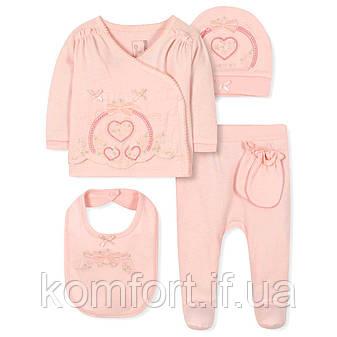 Комплект 5 в 1 для новорожденной девочки Caramell (44-50), фото 2