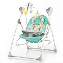 Кресло-качалка CARRELLO Nanny CRL-0005 Green Dino