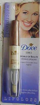 Блиск для губ 2в1 Dove