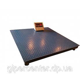 Весы платформенные ВПЕ-Центровес-1215-3 НПВ=3000 кг электронные