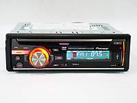 Автомагнитола 1din Pioneer DEH-8450UBG - DVD - MP3 + Пульт (4x50W) - Cъемная Панель, фото 1