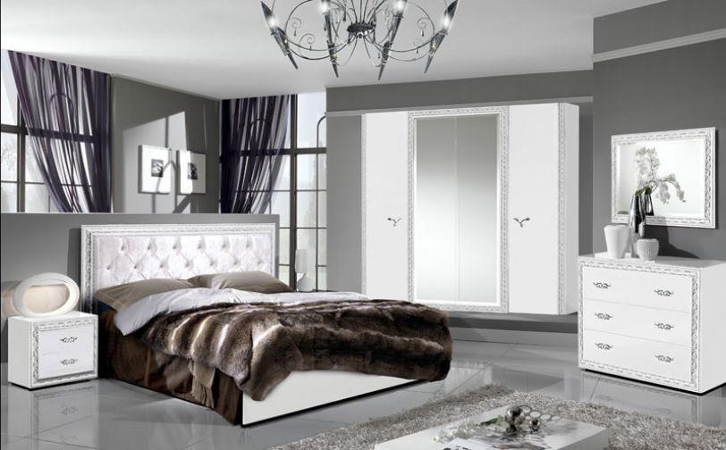 Спальня Ница 4Д (Бежевый) (Италия) (с доставкой)