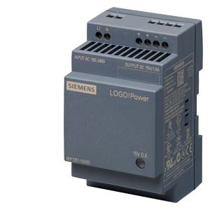 Siemens LOGO!POWER 5 V DC СТАБИЛИЗИРОВАННЫЙ БЛОК ПИТАНИЯ ВХОД: ~100-240 В ВЫХОД: =5 В/3 A, 6EP1311-1SH03