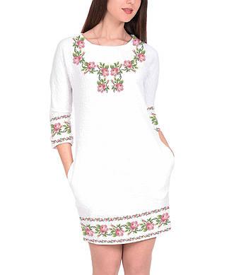 Заготовка женского платья для вышивки / вышивания бисером / ниткой «Ніжність»