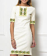Заготовка женского платья для вышивки / вышивания бисером / ниткой  «Дубок версаче»