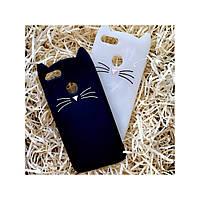 Чехол Кот для Xiaomi Redmi 5Х / А1, чёрный