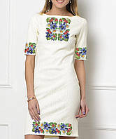 Заготовка женского платья для вышивки   вышивания бисером   ниткой «Барвисте » 8d55f8ccbe214