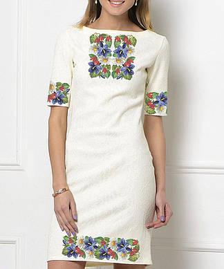 Заготовка женского платья для вышивки / вышивания бисером / ниткой «Барвисте»