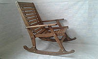 Кресло-качалка из дуба