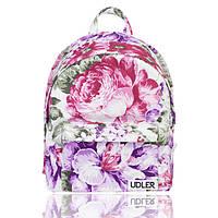Рюкзак с цветочным принтом пионы, фото 1