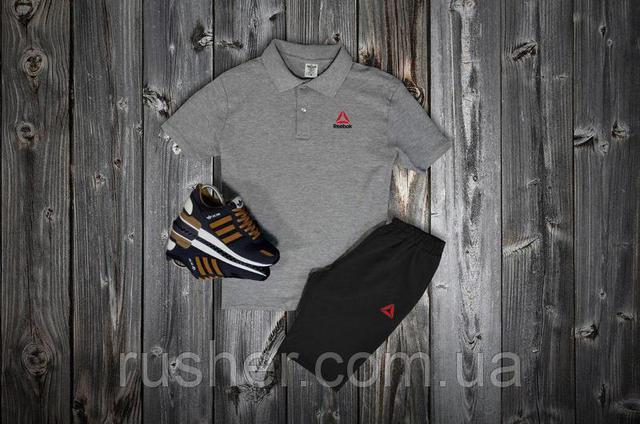 Комплекты поло + шорты от REEBOK