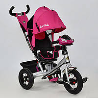 Велосипед детский 3-х колёсный 7700 В - 6780 /розовый лен/ Best Trike