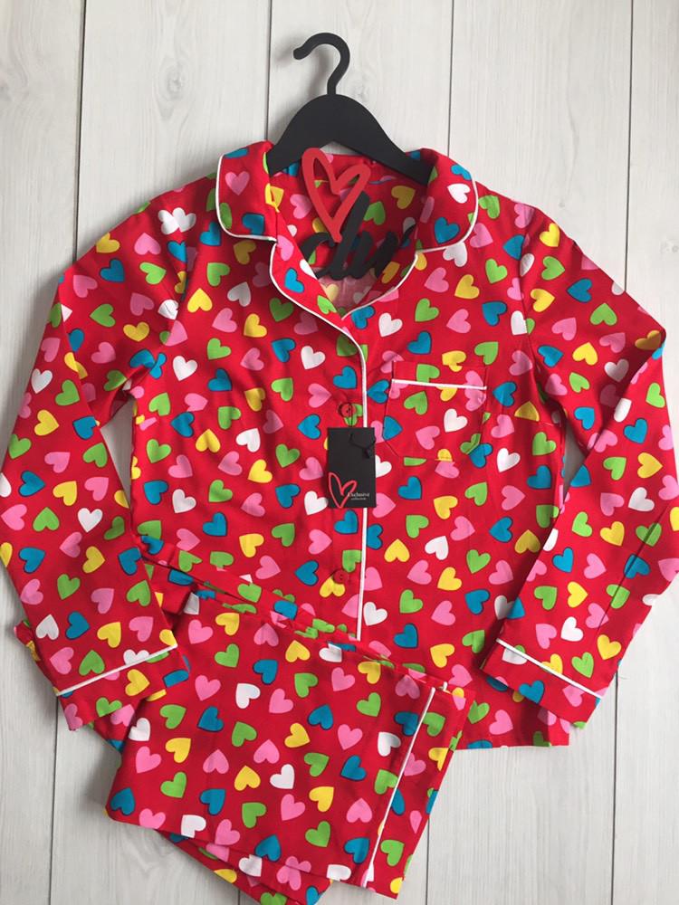 Женская домашняя одежда, комплект пижамы: рубашка и штаны