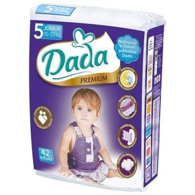Подгузники Dada Premium №5 (15-25 кг) junior 42 шт., цена 207 грн ... ef1626dd40e