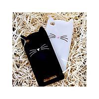 Чехол Кот для Xiaomi Redmi 4А, чёрный