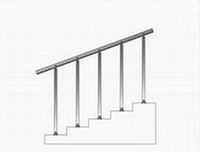 Металлические лестницы и ограждения вариант №19