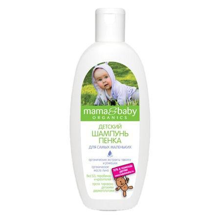 """Мягкий шампунь """"Без мыла и слез"""" Mama&Baby, 300мл"""