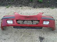 Бампер передний Mazda Premacy 1998-1999г.в. дорестайл красный