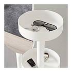 Вешалка для одежды с зеркалом IKEA LIERSKOGEN 185 см белая 503.308.66, фото 6