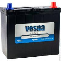 Аккумулятор автомобильный 55ач Vesna 6СТ-55 АзЕ Japan Euro (415 855)