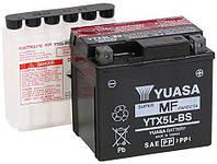 Аккумулятор мото -\+ 4ач МОТО Yuasa 12V 4Ah MF VRLA Battery AGM YTX5L-BS