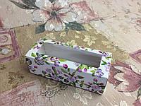 Коробка для макаронс Весна оконо 140х55х45мм, фото 1