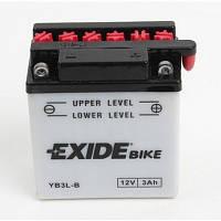 Аккумулятор мото -\+ 3ач Exide YB3L-A
