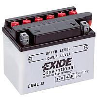 Аккумулятор мото -\+ 4ач Exide EB4L-B