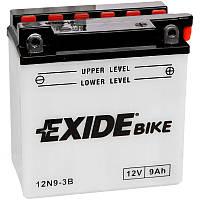 Аккумулятор мото -\+ 9ач Exide 12N9-3B
