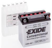 Аккумулятор мото +\- 9ач Exide 12N9-4B-1