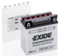 Аккумулятор мото -\+ 9ач Exide EB9L-B