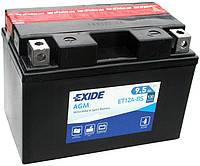 Аккумулятор мото +\- 9,5ач Exide ET12A-BS