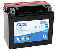 Аккумулятор мото +\- 10ач Exide ETX12-BS
