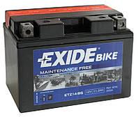 Аккумулятор мото +\- 11,2ач Exide ETZ14-BS