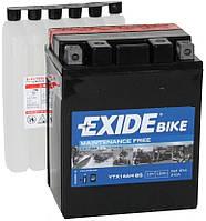 Аккумулятор мото +\- 12ач Exide ETX14AH-BS