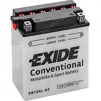 Аккумулятор мото -\+ 12ач Exide EB12AL-A2