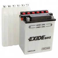 Аккумулятор мото -\+ 14ач Exide 12N14-3A