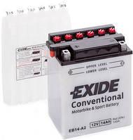 Аккумулятор мото +\- 14ач Exide EB14-A2