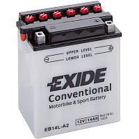 Аккумулятор мото -\+ 14ач Exide EB14L-A2