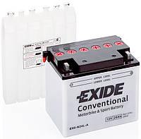 Аккумулятор мото -\+ 28ач Exide E60-N24L-A