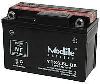 Аккумулятор мото +\- 6,5ач Outdo 6CT YTX6,5L-BS/(HCOD-6,5-1)