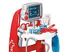 Набір доктора в інтерактивній візку зі звуком і аксесуарами Smoby 340202, фото 2