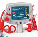 Набір доктора в інтерактивній візку зі звуком і аксесуарами Smoby 340202, фото 6