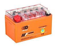Аккумулятор мото +\- 7ач Outdo 6CT YTX7A-BS MF (FA)/(HCOMF7-0)