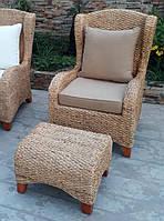 Комплект мебели кресло и пуфик