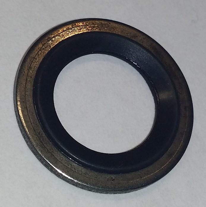 Кольцо уплотнительное (резинка с металлом) трубки компрессора кондиционера 18.97 мм наружный диаметр GM