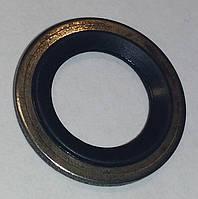 Кольцо уплотнительное (резинка с металлом) трубки компрессора кондиционера 18.97 мм наружный диаметр GM, фото 1