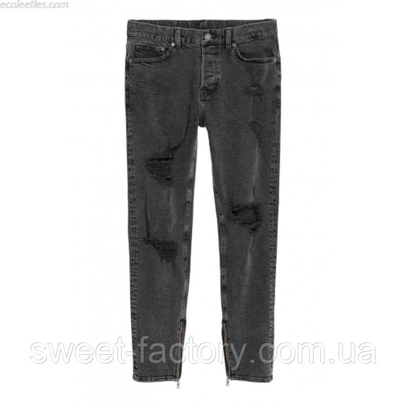 Поделиться: новые мужские джинсы h&m оригинал 100% отличное ка