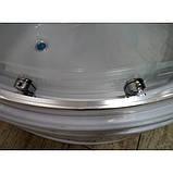Душевая кабина VERONIS KV-3-100 прозрачное стекло 100х100х195 (ИТАЛИЯ), фото 4